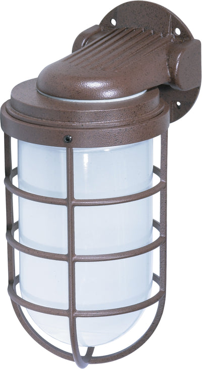 "Nuvo Lighting SF76/623 1 Light 11"" Industrial Style Wall Mount Sconce Mount with Frosted Glass"