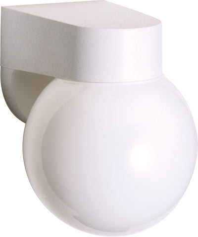 "Nuvo Lighting SF77/729 1 Light 6"" Porch Wall Mount Sconce With Lexan Globe"