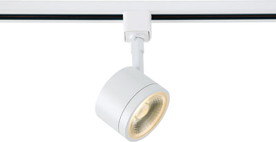 Nuvo Lighting TH401 1 Light LED 12W Track Head Round White 24 Deg. Beam