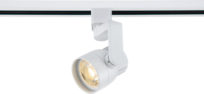 Nuvo Lighting TH421 1 Light LED 12W Track Head Angle Arm White 24 Deg. Beam