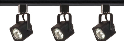 Nuvo Lighting TK346 3 Light MR16 Square Track Kit Line Voltage