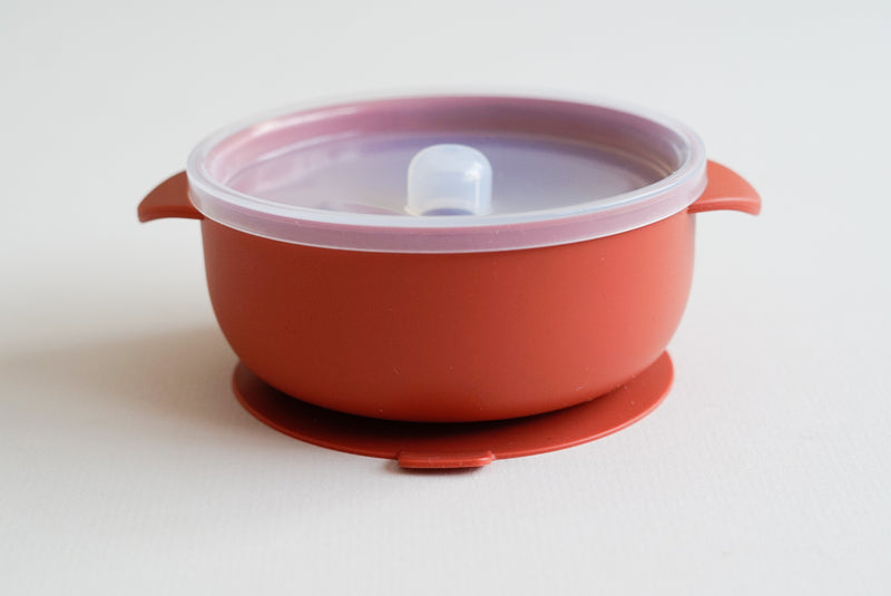 Silicone suction bowl /Rust