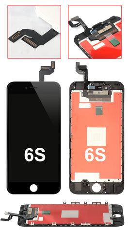 IPHONE 6S BLACK OEM QUALITY SCREEN REPLACEMENT WITH TOUCH SCREEN AND LCD DISPLAY