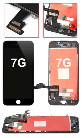 IPHONE 7 BLACK OEM QUALITY SCREEN REPLACEMENT WITH TOUCH SCREEN AND LCD DISPLAY
