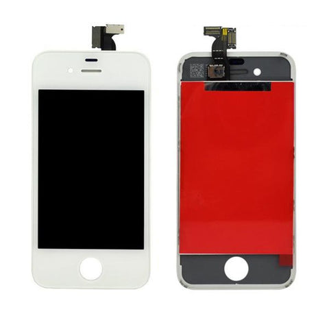 IPHONE 4 WHITE OEM QUALITY SCREEN REPLACEMENT WITH TOUCH SCREEN AND LCD DISPLAY