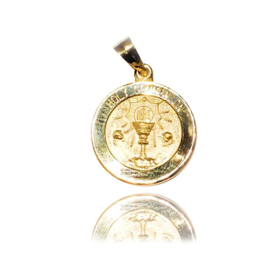 """Holy Communion"" Yellow Gold Pendant (14K)"