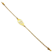 """Health Guard"" Yellow Gold Bracelet (14K)"