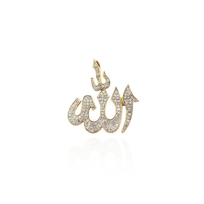 Diamond Allah Pendant (10K) Lucky Diamond New York