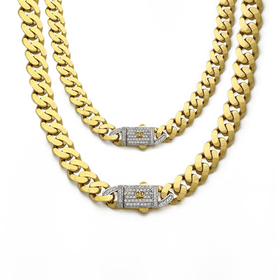 Cuban Monaco Lightweight Chain (14K) main - Lucky Diamond - New York