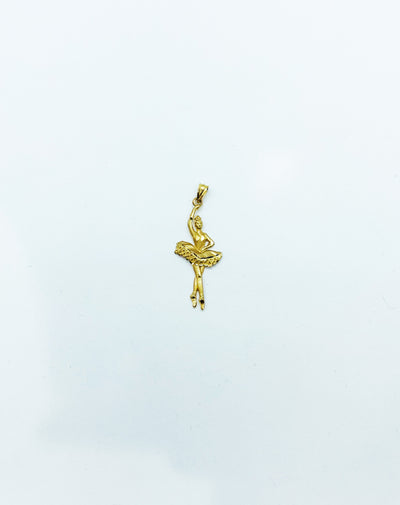 Ballerina Diamond Cut Pendant (14K). - Lucky Diamond