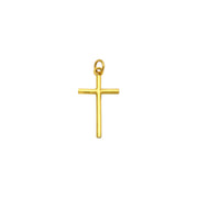 Cross Pendant (24K) front - Lucky Diamond - New York
