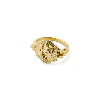 Ganesh Chaturthi Ring (10K , 14K or 18K)