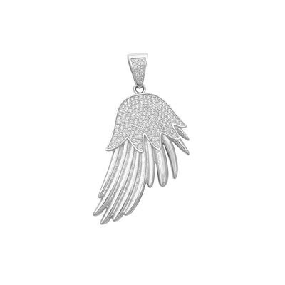 Icy Wing White Pendant (Silver) Lucky Diamond New York
