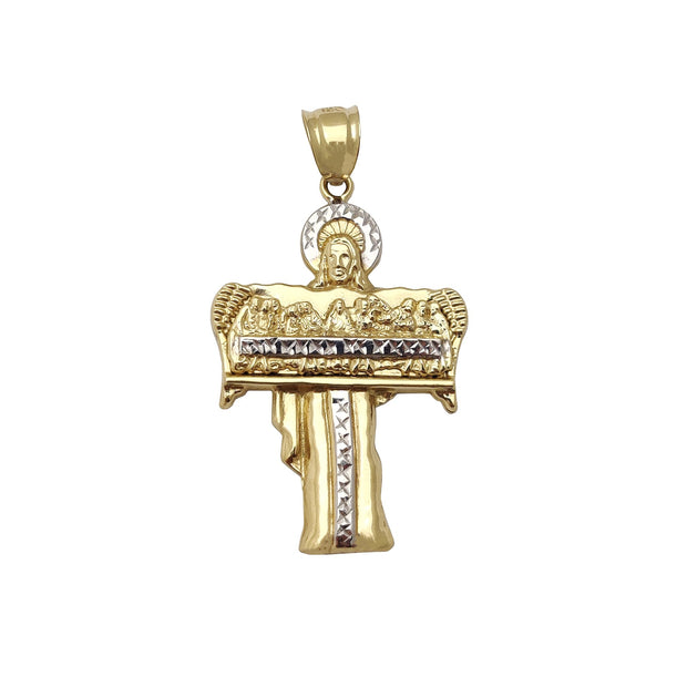 Jesus Last Supper Pendant (14K) Lucky Diamond New York