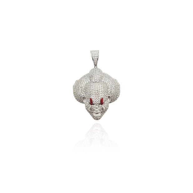 Silver IT Pennywise Head Pendant (Silver) New York Lucky Diamond