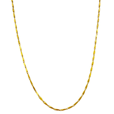 Solid Razo Chain (24K) Lucky Diamond New York