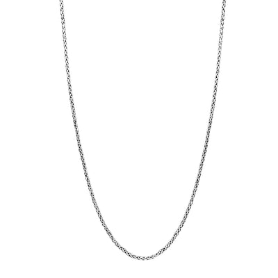 Wheat Chain (Silver) Lucky Diamond New York