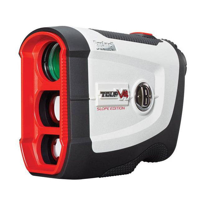 Bushnell Tour V4 Shift (Slope Edition) Golf Laser Rangefinder (with Patriot Pack)