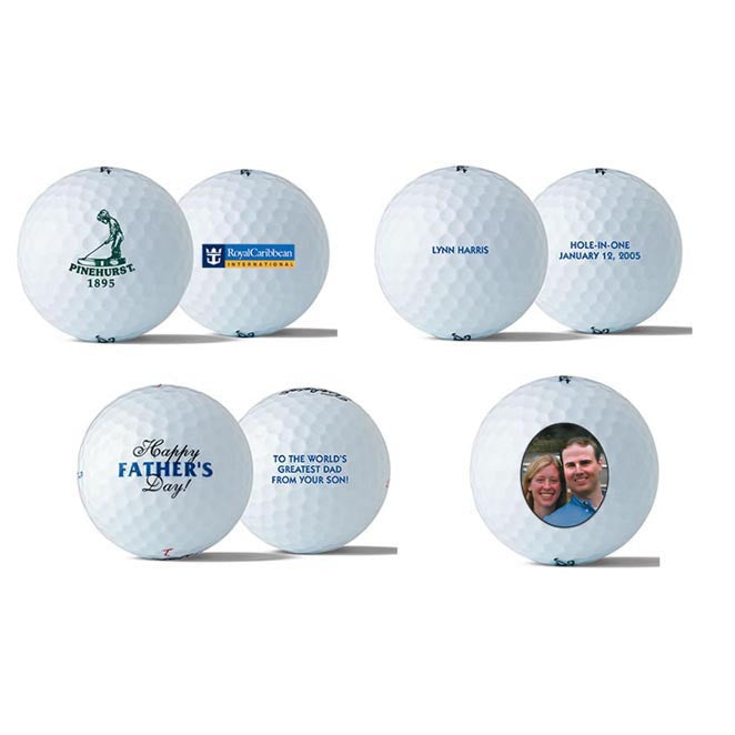 Logo & Custom Golf Balls