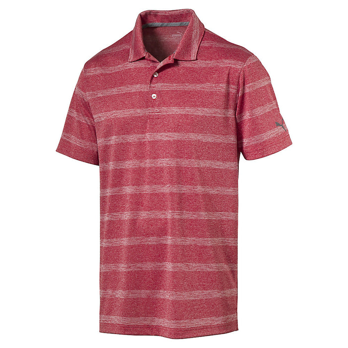 PUMA POUNCE STRIPE POLO SHIRT