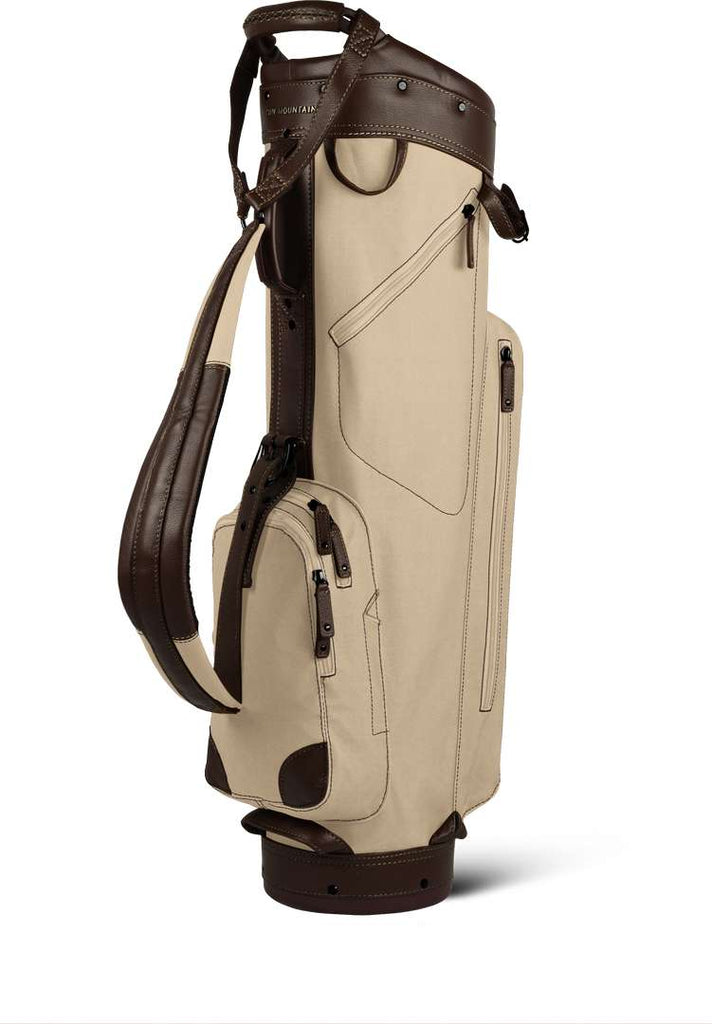 SUN MOUNTAIN CANVAS/LEATHER CART BAG