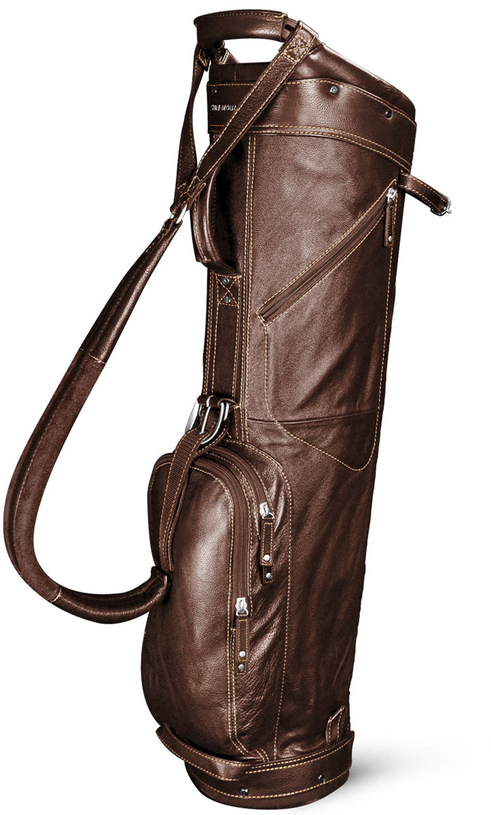 SUN MOUNTAIN LEATHER SUNDAY BAG