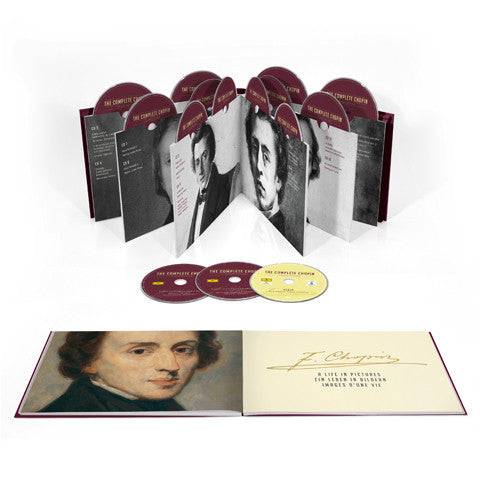 The Complete Chopin Deluxe Edition 20 CD'er + 1 DVD