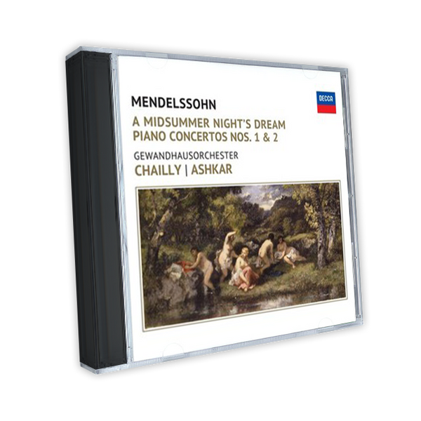 Mendelssohn: A Midsummer Night's Dream. Piano Concertos