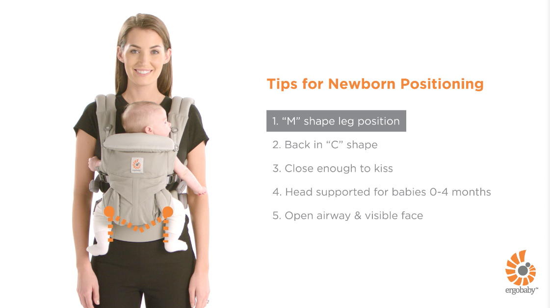 how to put on ergobaby 360 carrier