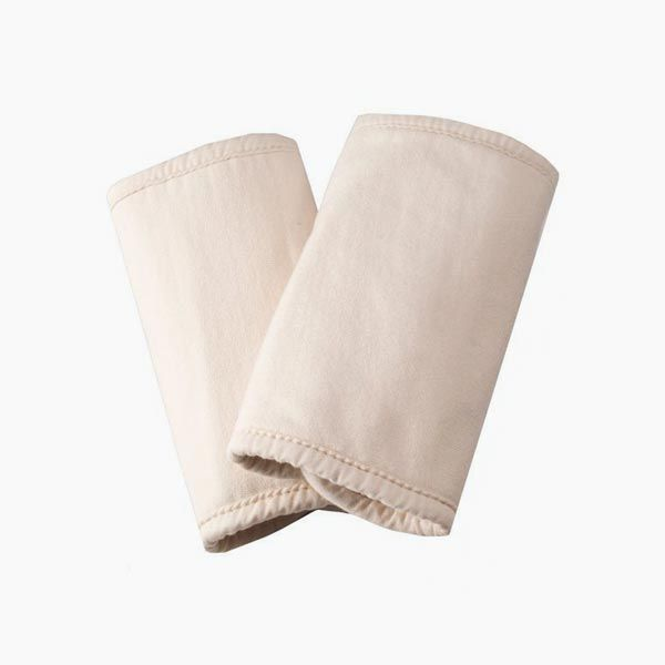 Organic Cotton Teething Pads - Natural