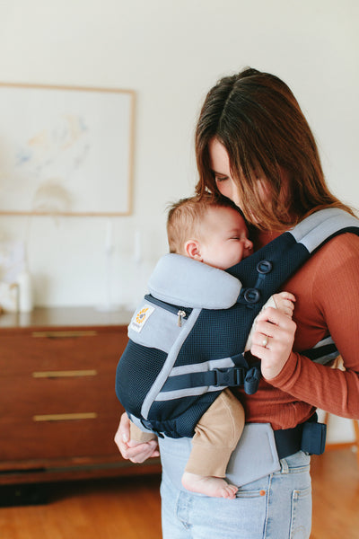 Adapt Baby Carrier: Cool Air Mesh - Chambray