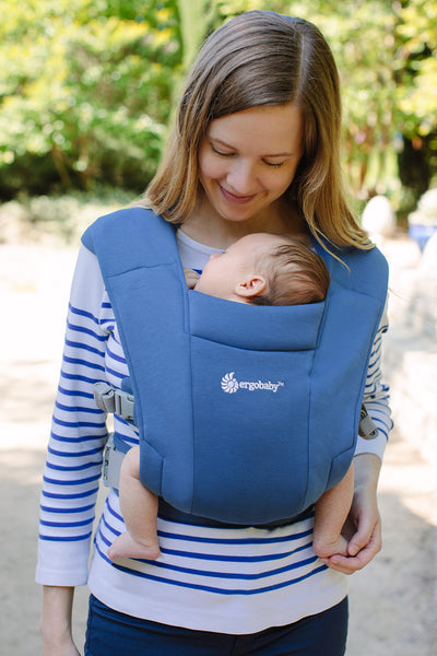 Embrace Baby Carrier - Soft Navy
