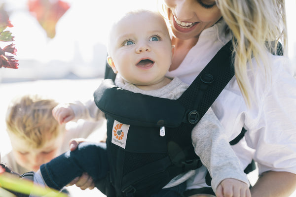 Omni 360 Baby Carrier: Cool Air Mesh - Onyx Black