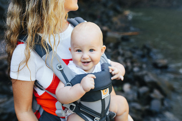 Omni 360 Baby Carrier: Cool Air Mesh - Carbon Grey