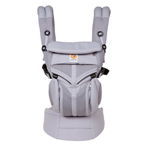 Omni 360 Baby Carrier: Cool Air Mesh -  Lilac Grey