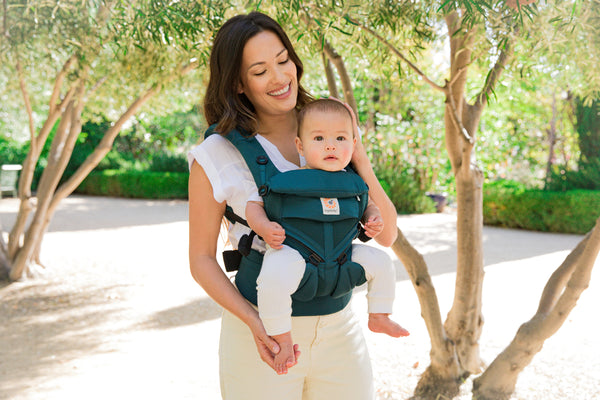 Omni 360 Baby Carrier: Cool Air Mesh - Evergreen
