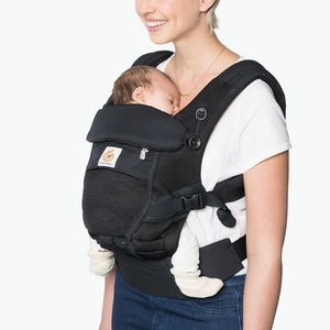 Adapt Cool Air Mesh Baby Carrier - Onyx Black