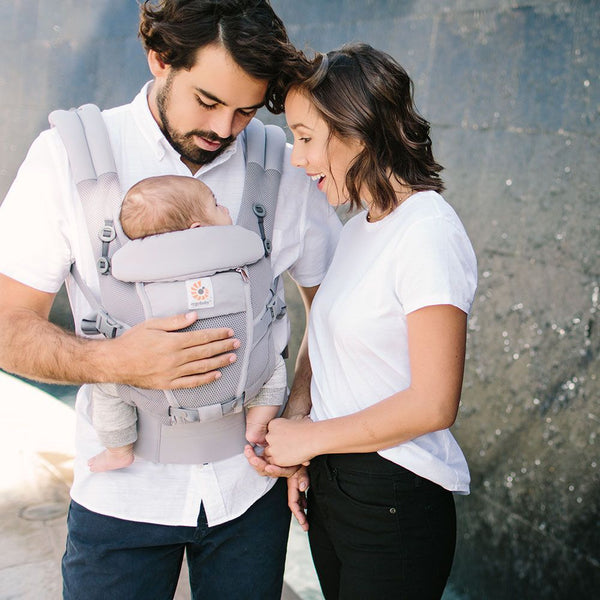 Adapt Cool Air Mesh Baby Carrier - Pearl Grey