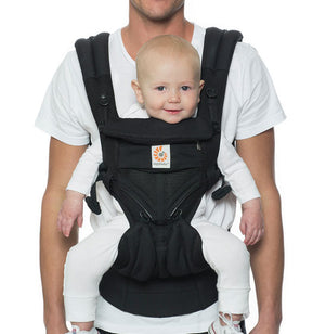 Omni 360 Cool Air Mesh Baby Carrier - Onyx Black