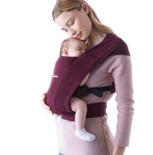 Embrace Baby Carrier - Burgundy