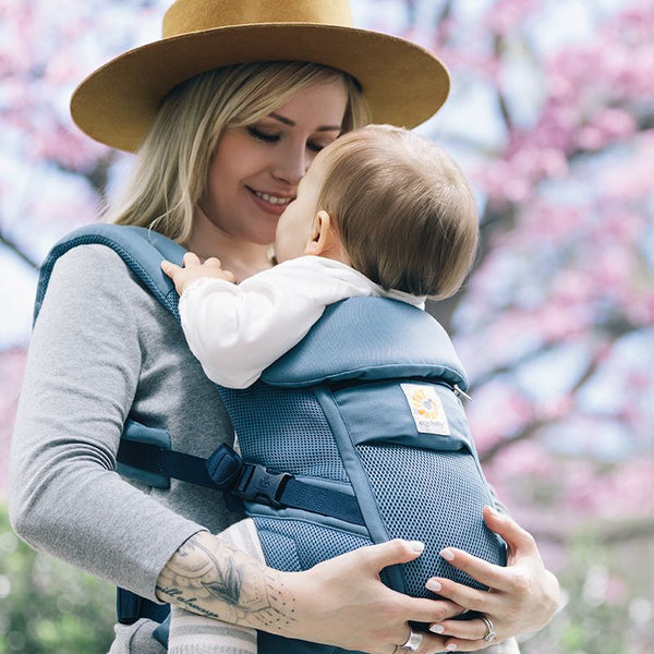 Adapt Baby Carrier: Cool Air Mesh - Oxford Blue
