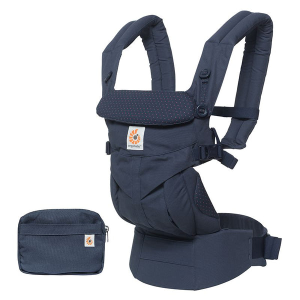 Omni 360 Baby Carrier: Navy Mini Dots
