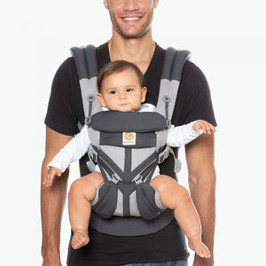 Omni 360 Cool Air Mesh Baby Carrier - Carbon Grey