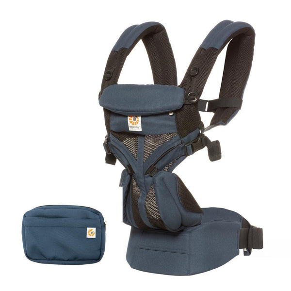 Omni 360 Baby Carrier: Cool Air Mesh-Raven