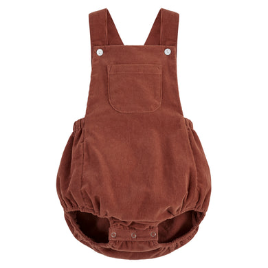 Whitby romper - clay corduroy