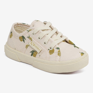KONGES SLØJD X SUPERGA LACES /LEMON