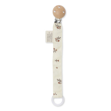 PACIFIER STRAP COTTON / PETIT AMOUR ROSE