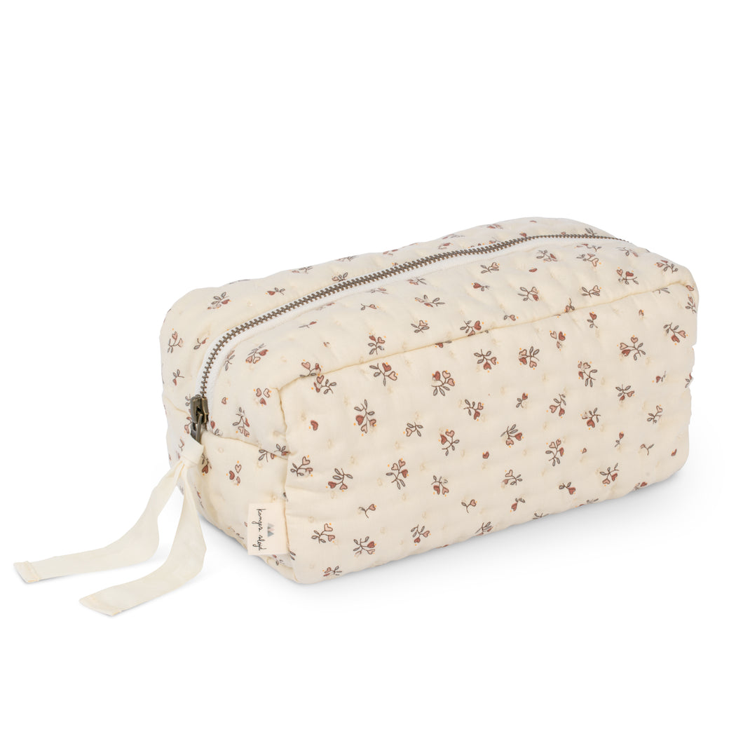 【ラスト1点】QUILTED TOILETRY BAG /PETIT AMOUR ROSE