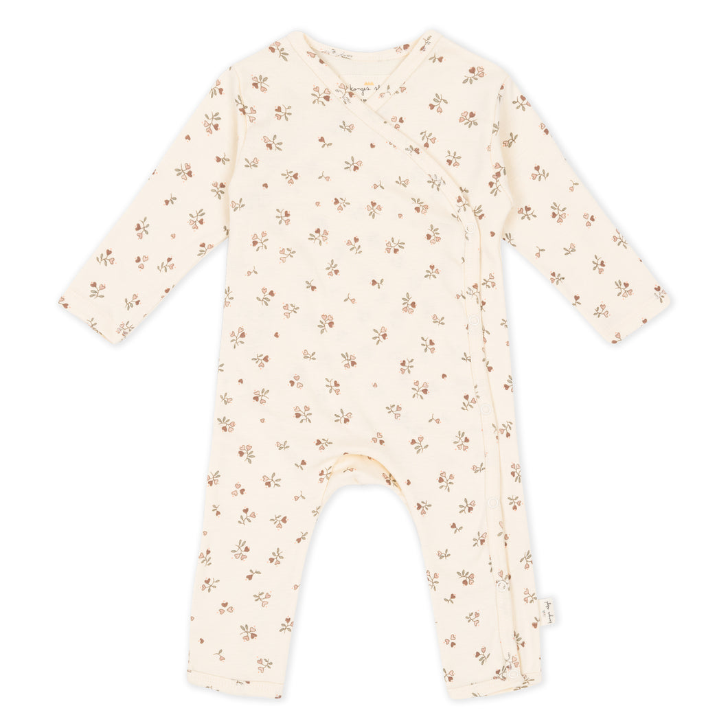 NEW BORN ONESIE /PETIT AMOUR ROSE