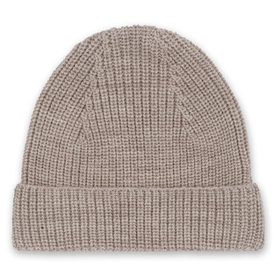 WITUM KNIT BEANIE /PALOMA BROWN
